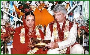Traditionell Indische Hochzeit